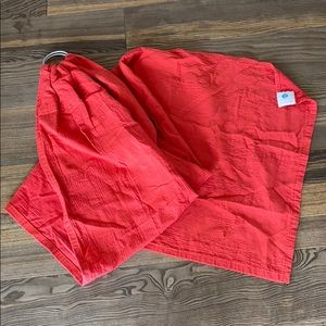 Uchi Red Ring Sling Baby Carrier